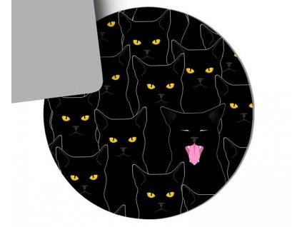 kočka podložka pod myš