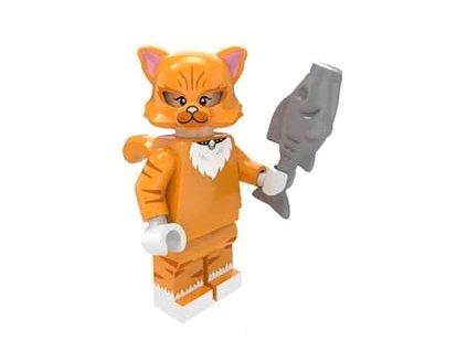 kočka lego figurka kočičí kocour