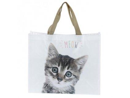 nákupní taška kočka
