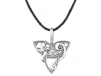 kočka keltská přívěsek náhrdelník