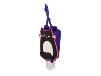obal na desinfekční gel na ruce kočka