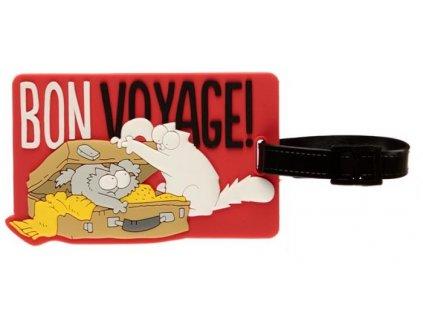 visačka na zavazadlo Simons cat 2