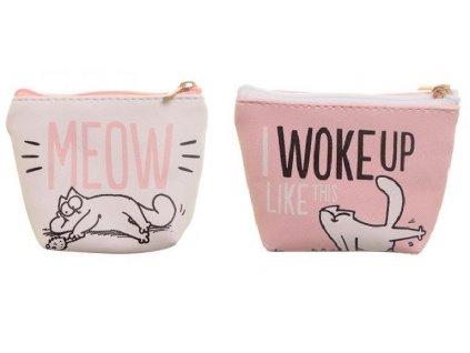 peněženka kočka Simons Cat 7
