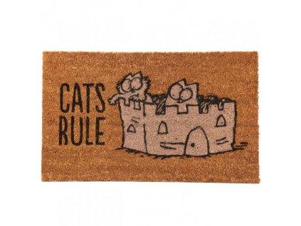 rohožka kočka simons cat kokosové vlákno