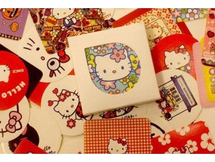 nálepky samolepky Hello Kitty kočka