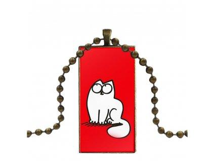 náhrdelník přívěsek simons cat 4