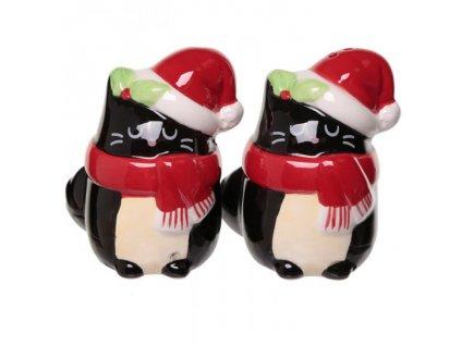 slánka pepřenka kočka vánoční