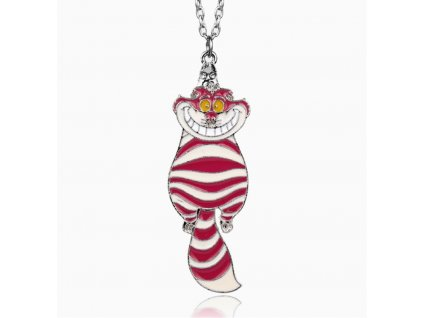 šklíba na řetízku kočka náhrdelník přívěsek kopie