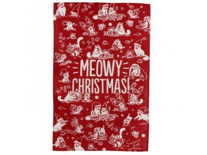 utěrka simons cat vánoce