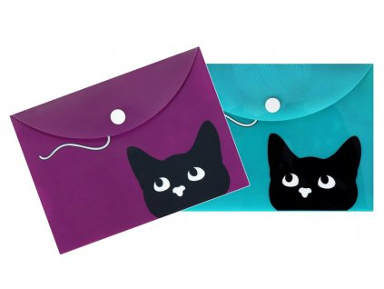 desky pouzdro na doklady kočka kočičí