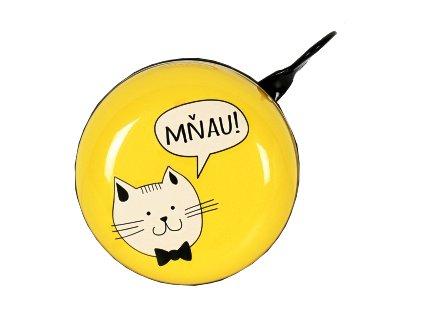 zvonek na kolo kočka kočičí 2