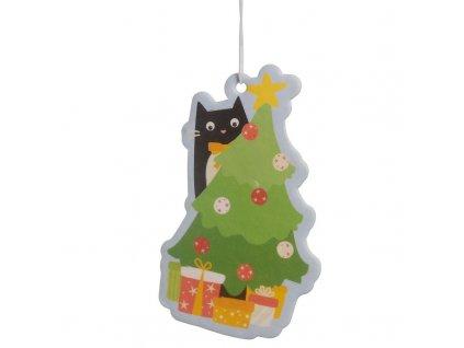 aroma vánoce skořice kočka s kočkou kočičí