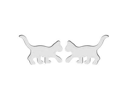 náušnice kotě kočka kočičí pecky