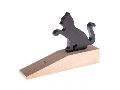 zarážka dveře kočka s kočkou kočičí