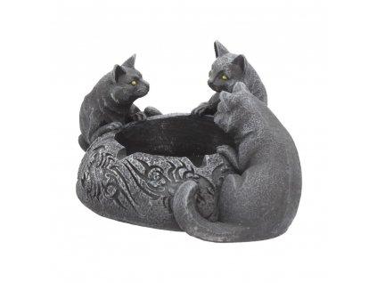 popelník tři kočka kočka s kočkou 6