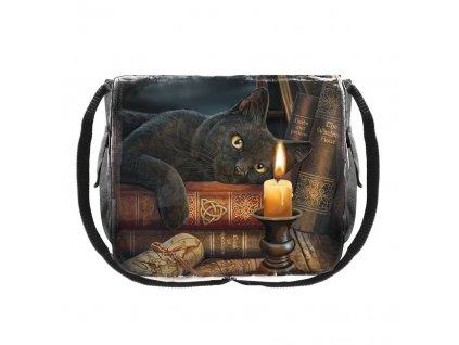 kabelka messenger bag kočka kniha s kočkou kočičí Lisa Parker