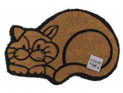 rohožka kočka kočkou mačka kokosová větší s kočkou s mačkou