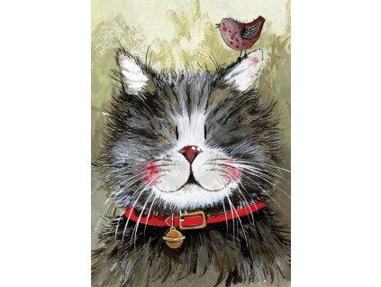 utěrka kočka s kočkou kočičí mačka mačacie s mačkou alex clark