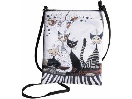 crossbody kabelka taška kočka s kočkou kočičí rosina wachtmeister