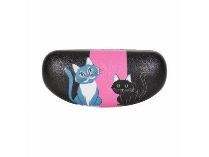pouzdro na brýle kočka s kočkou kočičí kreslené