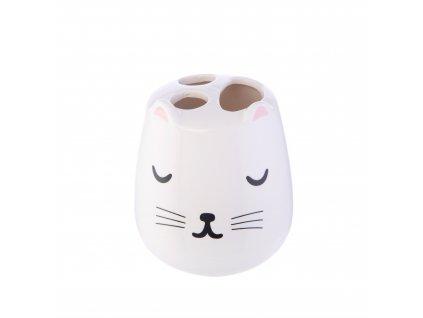 stojánek kočka s kočkou kočičí
