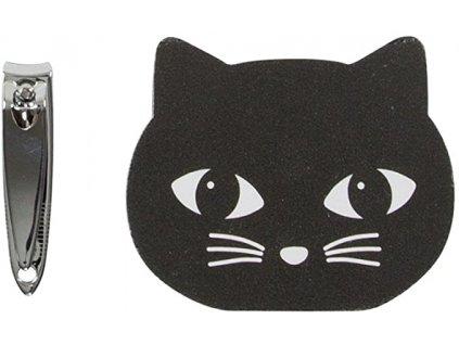 souprava na nehty kočka s kočkou kočičí