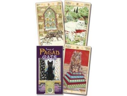tarotové karty kočky kočka s kočkou kočičí pagan cats 5