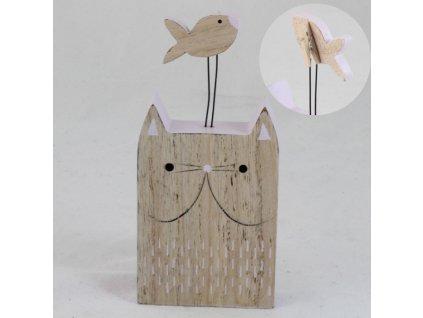 stojánek na poznámky vizitku kočka s kočkou kočičí