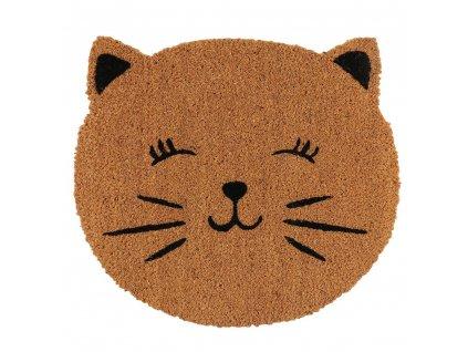 rohožka kočka s kočkou kočičí tvář kokosové vlákno