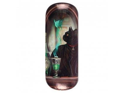 pouzdro na brýle kočka s kočkou kočičí lisa parker absint