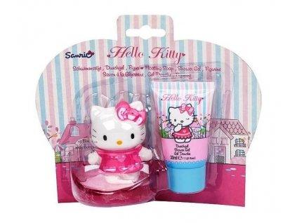 hello kitty kosmetická sada sprchová gel mýslo kočka s kočkou kočičí