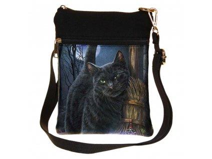 kabelka kočka s kočkou kočičí lisa parker koště 2