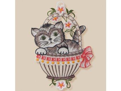 paličkovaná kočka