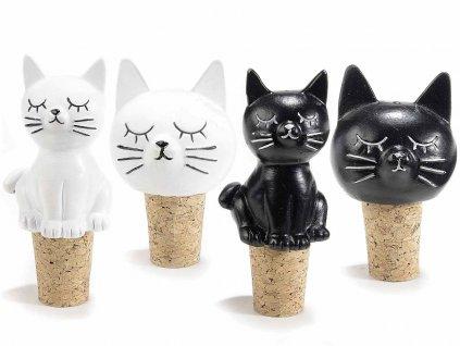 zátka na láhev kočka s kočkou kočičí korková