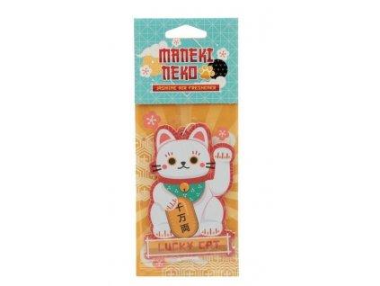 osvěžovač aroma kočka s kočkou kočičí maneki neko jasmín 2