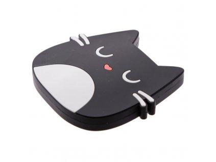 přenosná nabíječka externí baterie k mobilu kočka s kočkou kočičí
