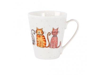 hrnek kočka s kočkou kočičí