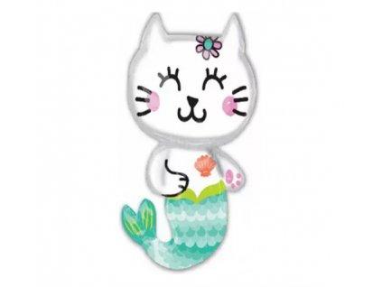 balonek s kočkou kočka kočičí mořská víla