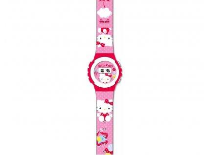 hodinky kočka s kočkou kočičí Hello Kitty 2