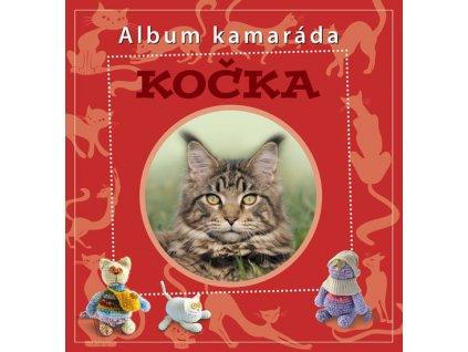 Kočka album kamaráda kočka s kočkou kočičí kniha pro kočku