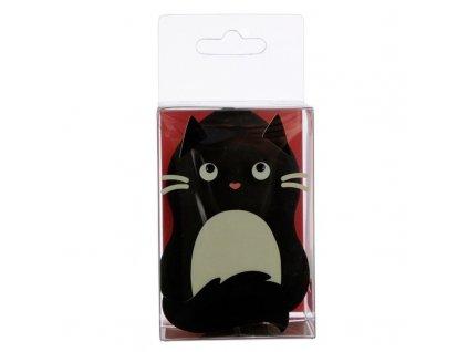 makeup houbička kočka s kočkou kočičí černá