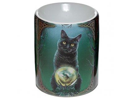 aromalampa kočka s kočkou kočičí lisa parker věštkyně