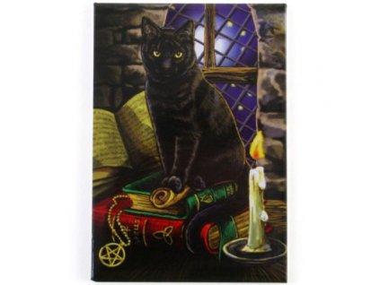 magnet kočka s kočkou kočičí Lisa Parker