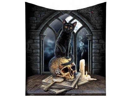 deka kočka s kočkou kočičí lebka lisa parker