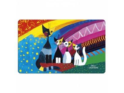prkénko kuchyňské kočka s kočkou kočičí Rosina Wachtmeister