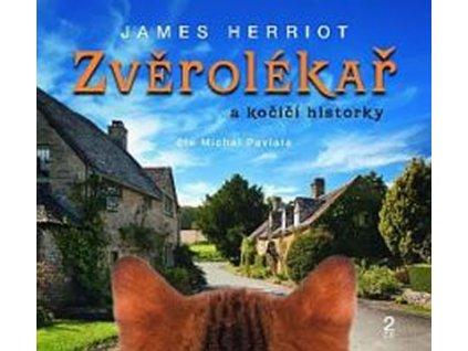 Zvěrolékař Kočičí historky James Herriot CD