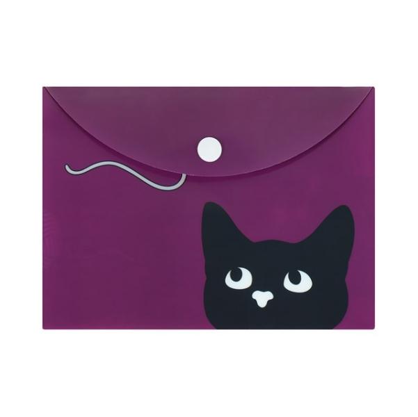 Plastové desky kočka II Barva: fialová