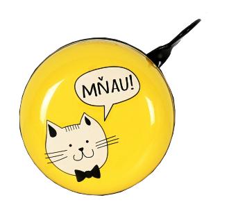 Zvonek na kolo kočka