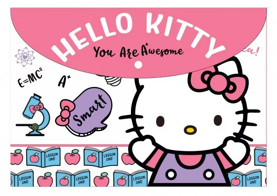 Pouzdro na dokumenty s kočkou Hello Kitty (A4)