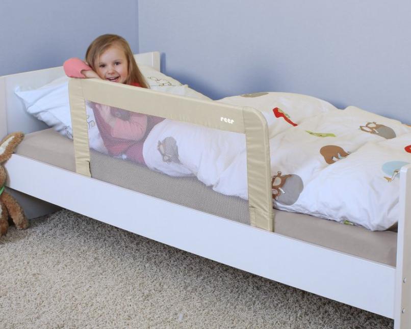 Zábrany na posteľ nielen pre bezpečie dieťatka, ale aj pre váš dobrý pocit